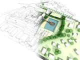 Ilustracja pomysłu i realizacji urbanistyki