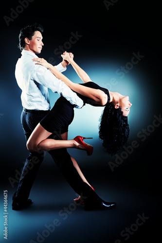 Fotografie, Obraz  latin dancers