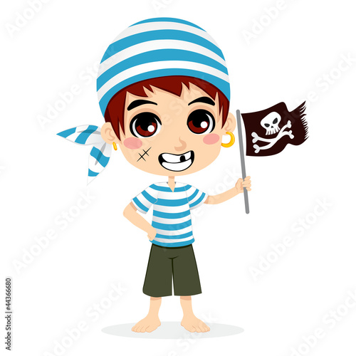 Photo Stands Pirates Little Pirate Kid