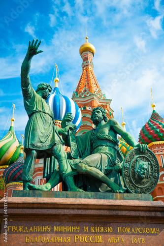 Платно  Monument to Minin and Pozharsky