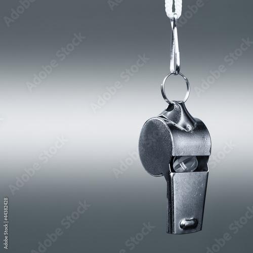 Valokuvatapetti Metal whistle