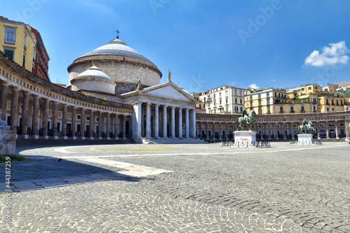Fotografia, Obraz  Napoli, Piazza del Plebiscito