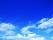 Leinwandbild Motiv blue sky background