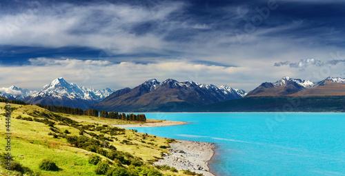 Poster Nouvelle Zélande Mount Cook, New Zealand