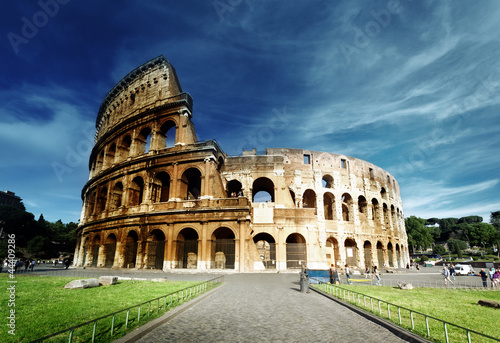 Fototapety, obrazy: Colosseum in Rome, Italy