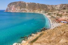 Agia Kyriaki Beach, Milos Isla...