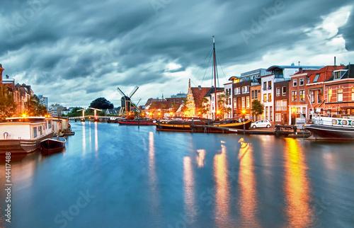 Plakat Hdr ... Leiden ... Holandia