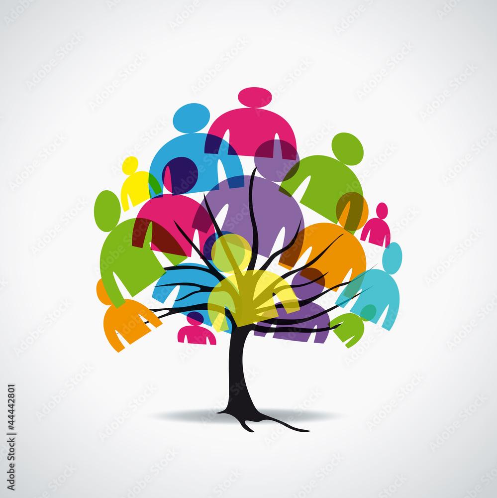 Fototapeta arbre-communauté-2
