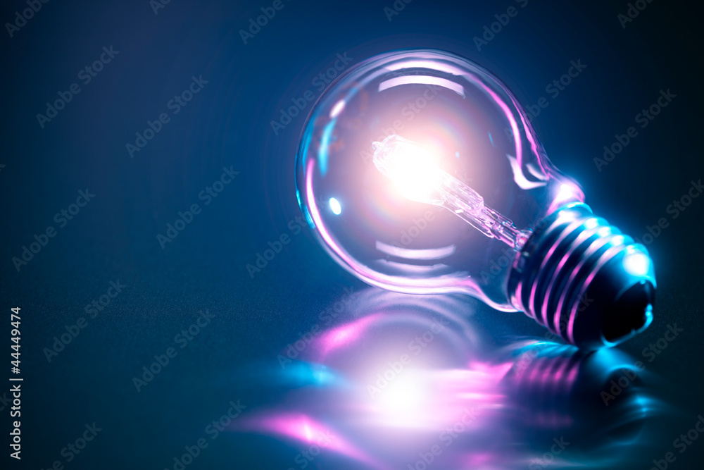 Fototapety, obrazy: Ampoule concept idée