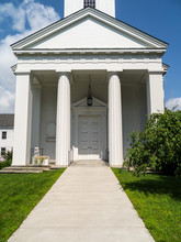 Classic White Church