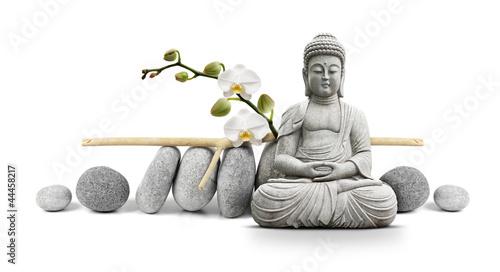 Stickers pour porte Buddha Bouddha et Bien-être