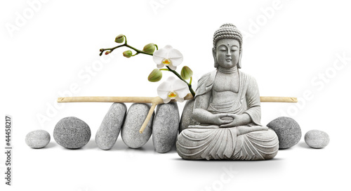 Bouddha et Bien-être Slika na platnu