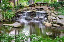 Waterfall In The Gaden