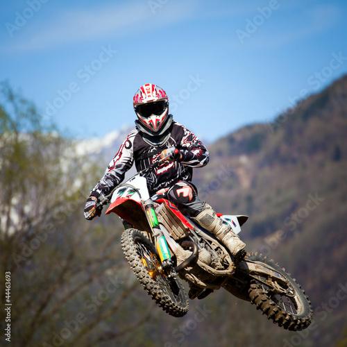 Staande foto Motorsport free style motocross