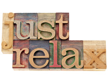 Just Relax In Wood Type