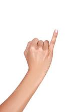 Holding Up The Little Finger