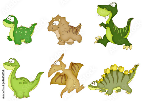 Fotografie, Obraz  Dinosaurier, Dinos, Urzeit, Steinzeit
