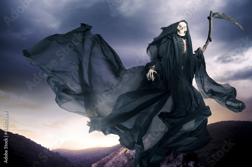 Grim reaper/ angel of death Poster