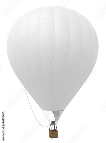 Valokuva Montgolfière sur fond blanc 1