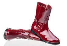 Pair Of Red Patent Leather Fem...