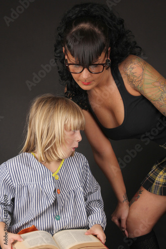 Fotografia, Obraz  Alumno travieso con maestra sexy