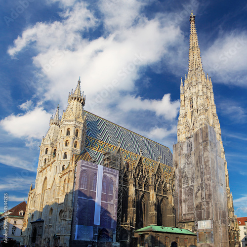St. Stephan cathedral in Vienna, Austria Wallpaper Mural