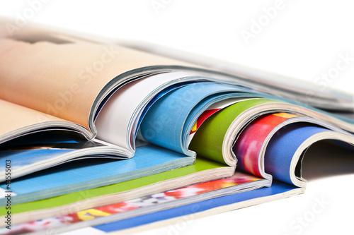 Fotografía  Color magazines