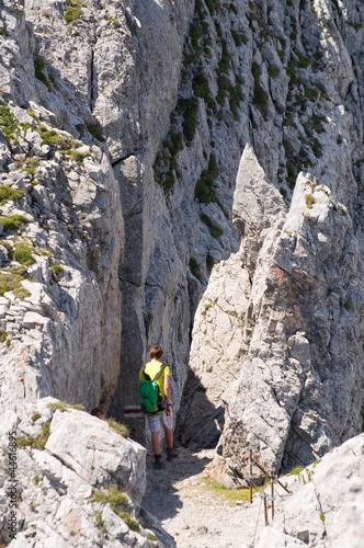 Foto op Plexiglas Alpinisme Lisengrat - Alpstein - Alpen - Schweiz