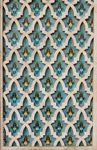 colorful moroccan mosaic tile