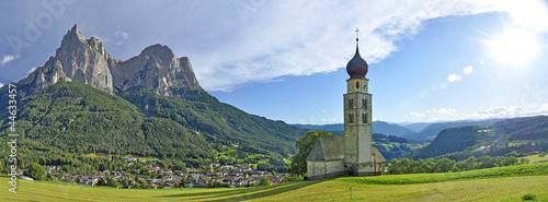 Fotografie, Obraz  chiesetta di montagna