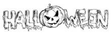 Halloween Theme Drawing 3