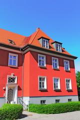 Frankfurt Oder, Rotes Wohnhaus