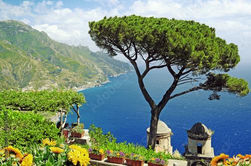 Foto-Kissen - Villa Rufolo (von Visions-AD)