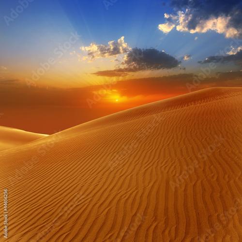 Spoed Foto op Canvas Droogte Desert sand dunes in Maspalomas Gran Canaria