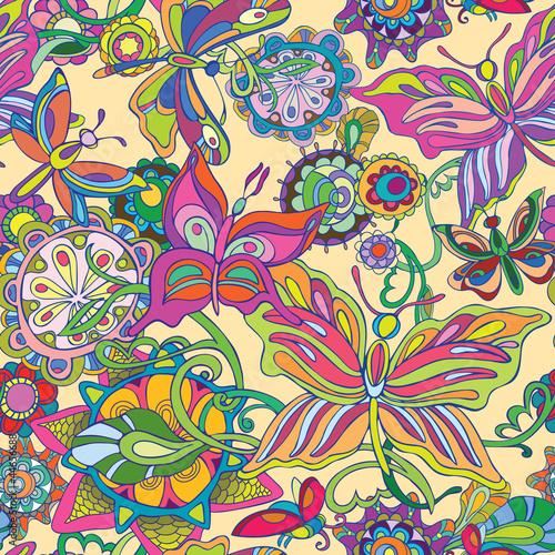 bezszwowy-lot-motyla-i-pola-kwiatow