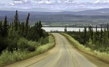 Alaska, Road From Fairbanks To Arctic Circle