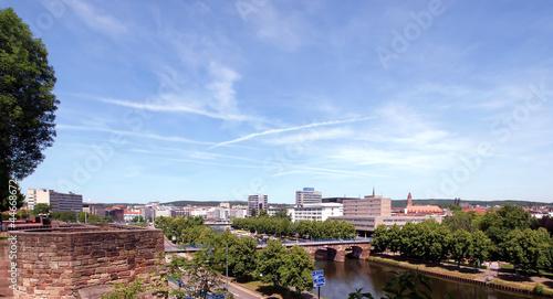 Recess Fitting Blue sky Alte Brücke in Saarbrücken