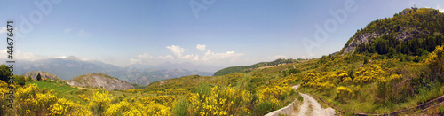 Panorama del parco del Pollino