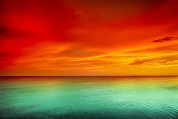 Obraz na Szkle Sunset
