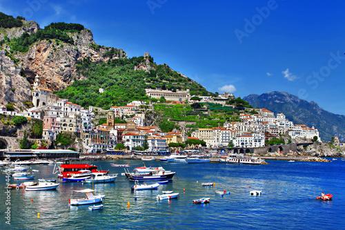 Door stickers Napels stunning coast of Amalfi, Italy