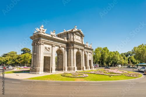 Fotobehang Madrid Puerta de Alcala Madrid