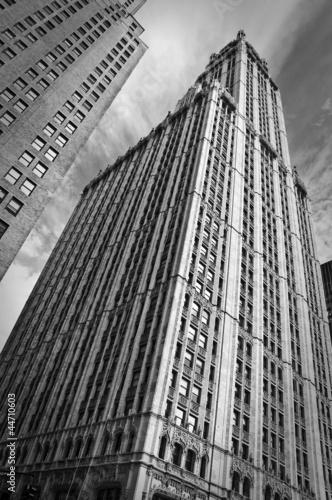 Nowoczesny obraz na płótnie Woolworth building - New York