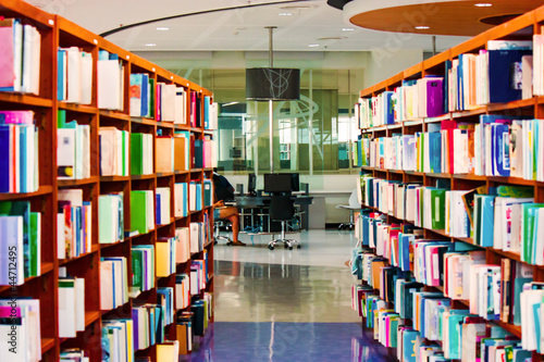 La pose en embrasure Bibliotheque books