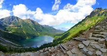 Morskie Oko Lake In Polish Tat...