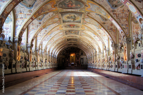 Foto  Hall of Antiquities, Munich Residenz, Germany