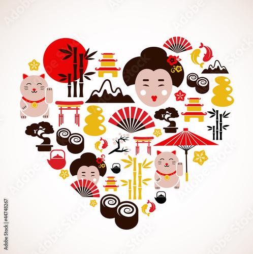 ksztalt-serca-z-ikonami-japonii