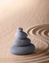 Fototapeta na wymiar Zen meditation garden