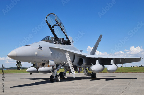 F-18ホーネット Canvas Print