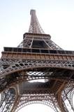 Fototapeta Fototapety Paryż - Eiffel