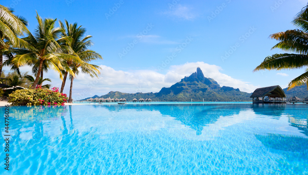 Fototapeta Bora Bora landscape